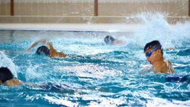 Photo of موهبة السباحة في كركوك تواصل تدريباتها
