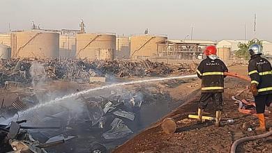 Photo of بالصور.. فرق الدفاع المدني تسيطر على حريق مخلفات مصفى الدورة