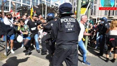 Photo of احتجاجات ببرلين على تشديد قوانين مكافحة فيروس كورونا