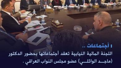 Photo of المالية النيابية تعقد أجتماعاتها بحضور الدكتور ماجد الوائلي