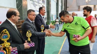 Photo of اختتام بطولة معالي السيد وزير النفط الأولى بكرة القدم للصالات