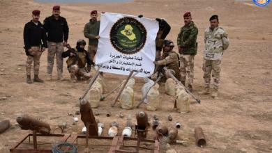 Photo of الاستخبارات العسكرية تستولي على مخبأ يضم كدساََ للاعتدة و العبوات الناسفة في صحراء الشامية بالانبار