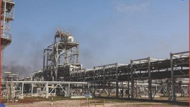 Photo of بدء أعمال المرحلة الثانية لمشروع معالجة الغاز في حقل مجنون