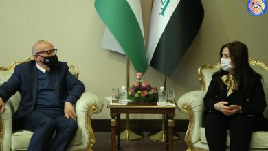 Photo of وزيرة الاعمار تلتقي نظيرها الاردني والوفد المرافق له
