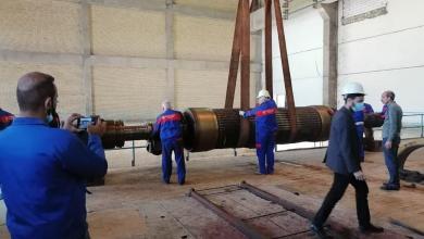 Photo of ملاكات انتاج كهرباء الجنوب تباشر بصيانة الوحدة الخامسة في محطة كهرباء النجيبية الحرارية