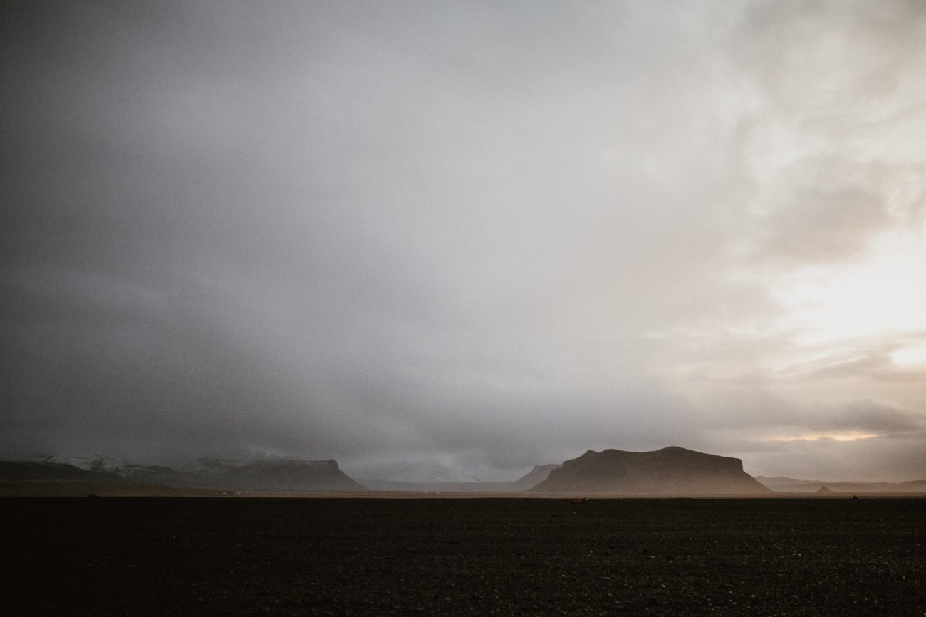 South coast Iceland in Winter