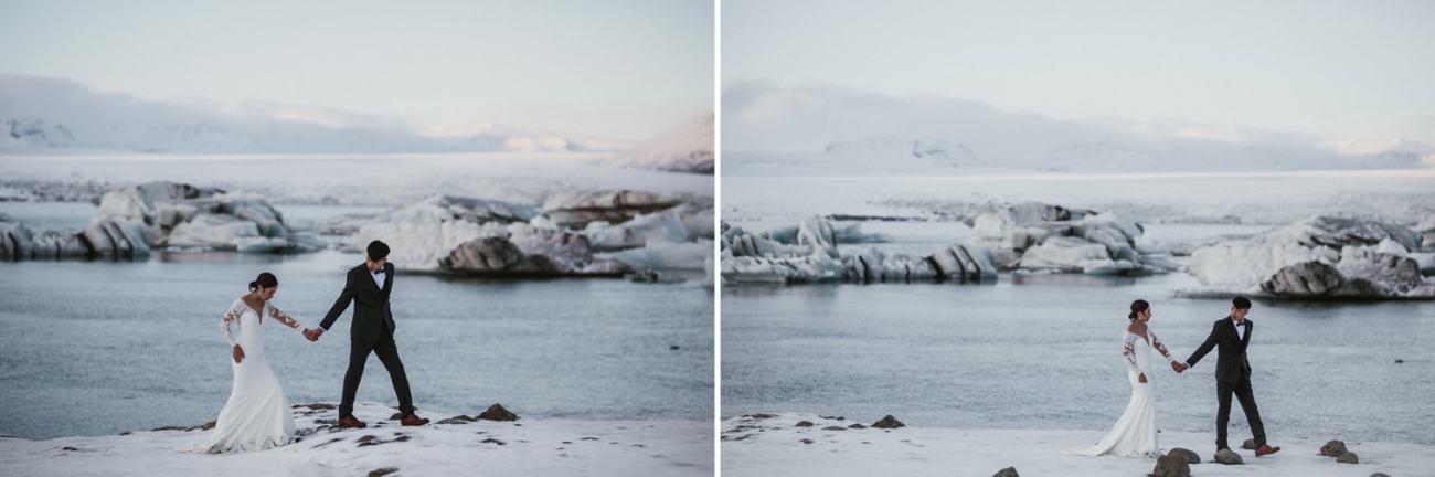 adventurous wedding iceland