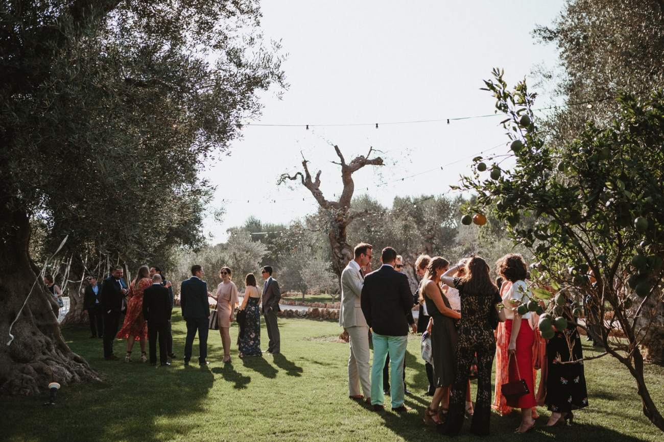 masseria torre coccaro wedding reception in Puglia