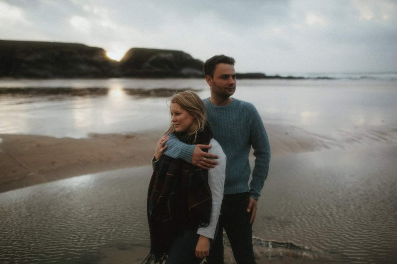 Cornwall Beach Engagement