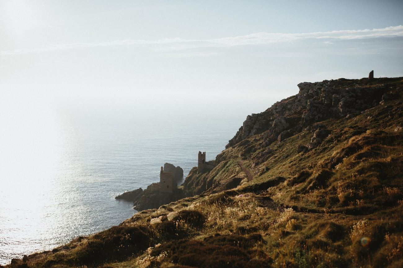 Botallack mines in Cornwall, UK