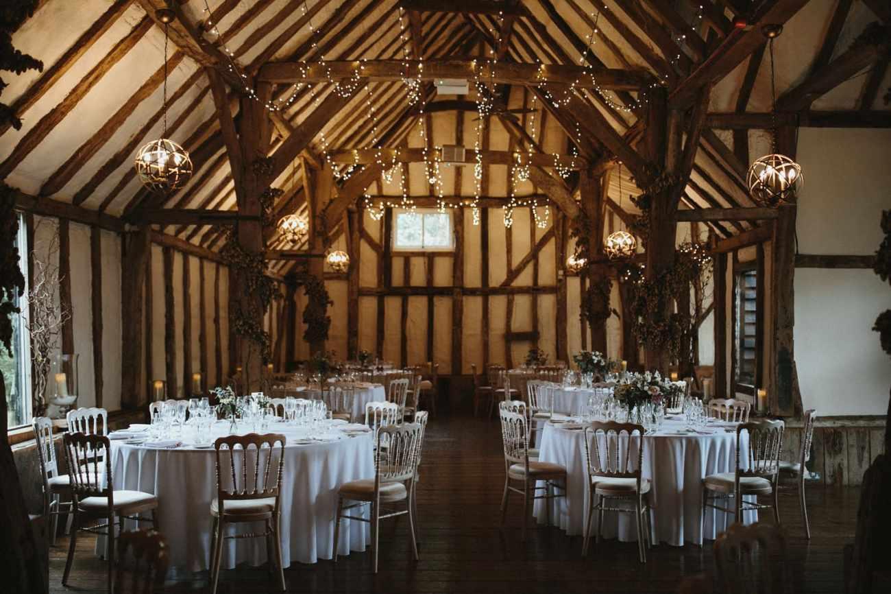 English Barn Wedding venue in Canterbury, Kent