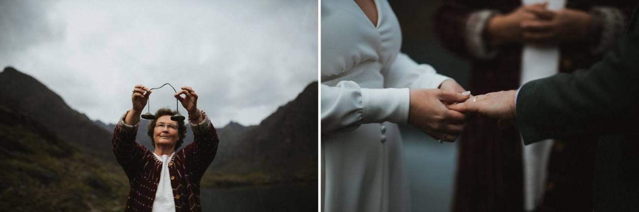 Loch Coruisk ceremony