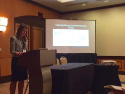 "Allison M. Prasch speaks on """"(Re)(Situ)ating Rhetoric in Place"""