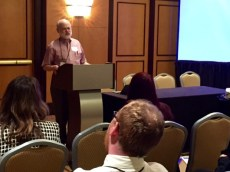 David Zarefsky offers a special response to ASHR attendees