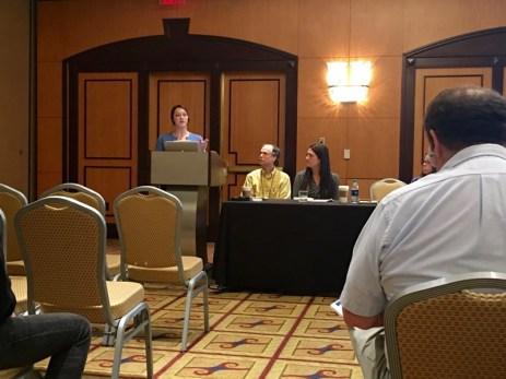 """Erin Chandler speaks on """"Establishing Anne Braden's Rhetorical Ethos as Southern Social Gospeler"""""""