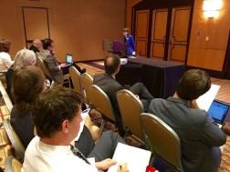"""Katie Homar speaks on """"Parliamentary Orators In and Out of Situ"""""""