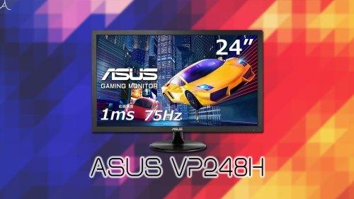「ASUS VP248H」ってモニターアーム使えるの?VESAサイズやおすすめアームはどれ?