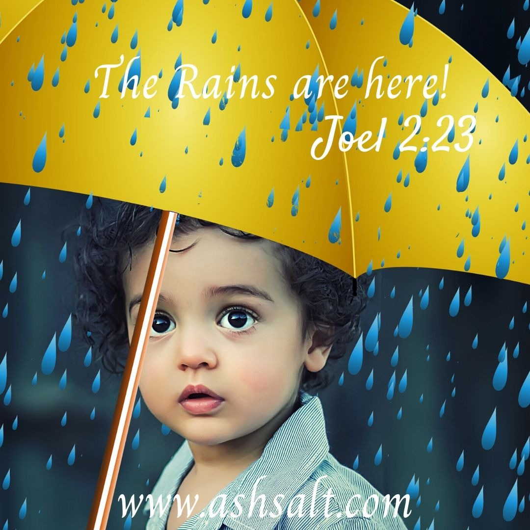 THE RAINS ARE HERE! + I HAVE COME WITH A GIFT FOR YOU!