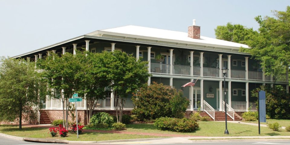 Lee House Pensacola located in historic downtown Pensacola overlooking the Pensacola Bay.
