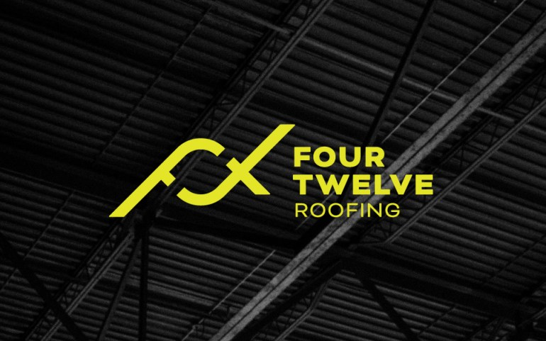 Four Twelve Roofing Stacked Logo
