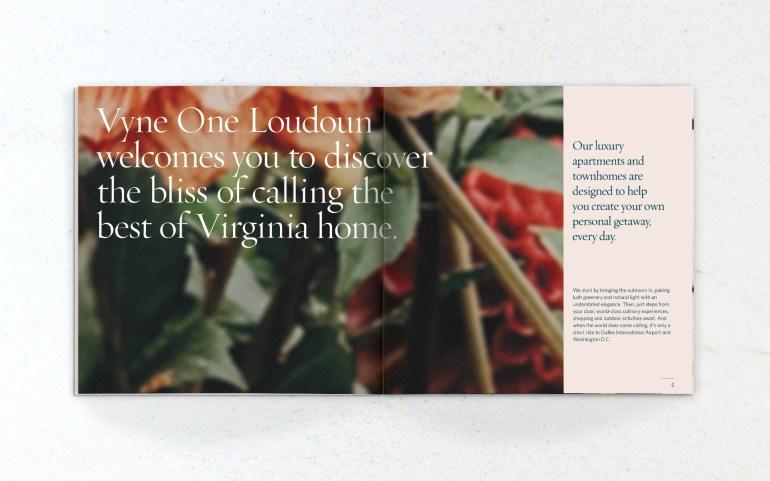 Vyne One Loudoun booklet
