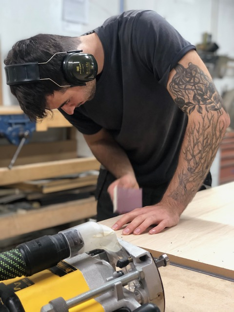 becoming a cabinet maker  - Ashton Bespoke