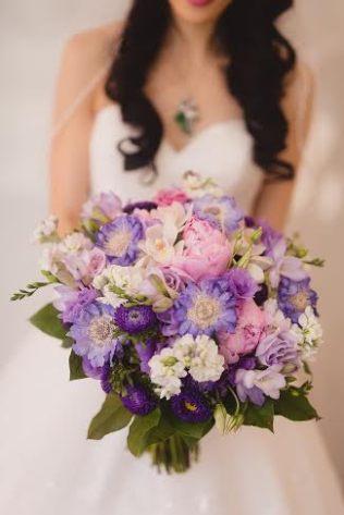 Summer Purples Bridal Bouquet