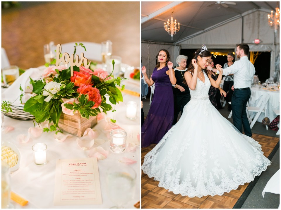 elkridge furnace inn reception maryland wedding photographer