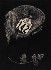 """wood engraving 9"""" x 12"""" 2010"""