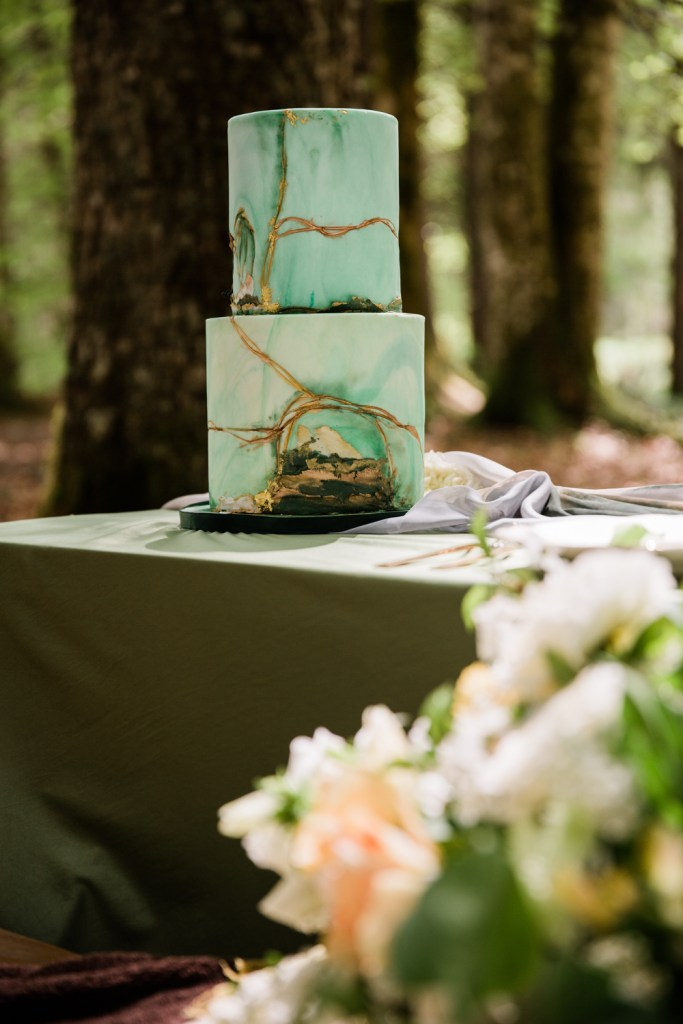 Beautiful details for an alpine elopement.