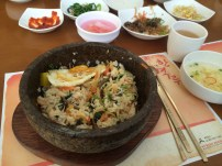 Bibimbap ready to eat