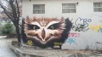 Awesome grafitti we saw Sunday afternoon