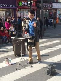 Street performers~
