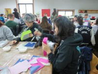 Making paper crafts