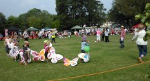 2014 Village Fete butterfly parade
