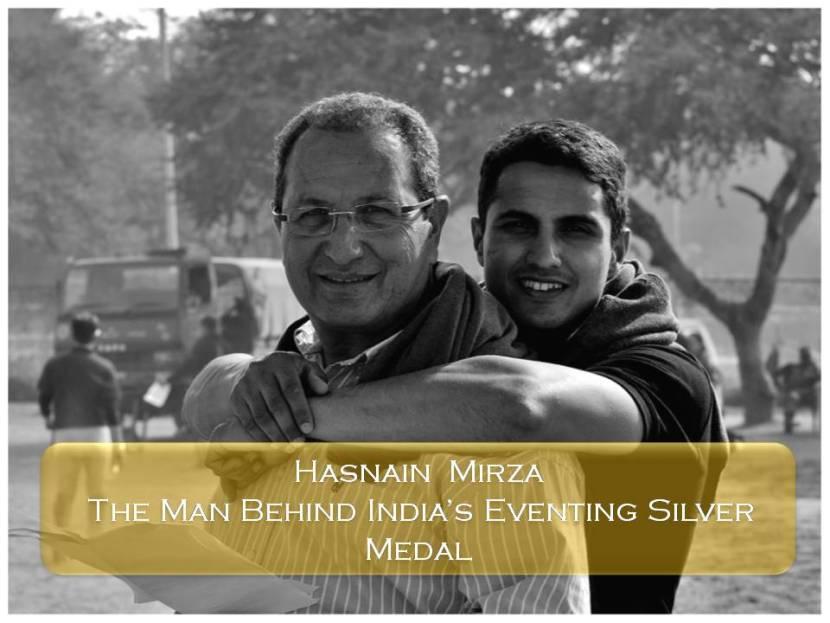 Fouaad Mirza with Hasnain