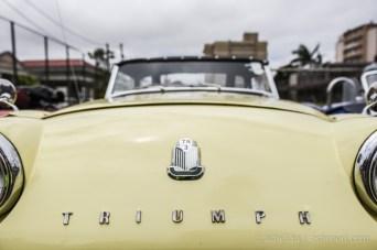 10th Classic Tour Mauritius - Triumph TR3