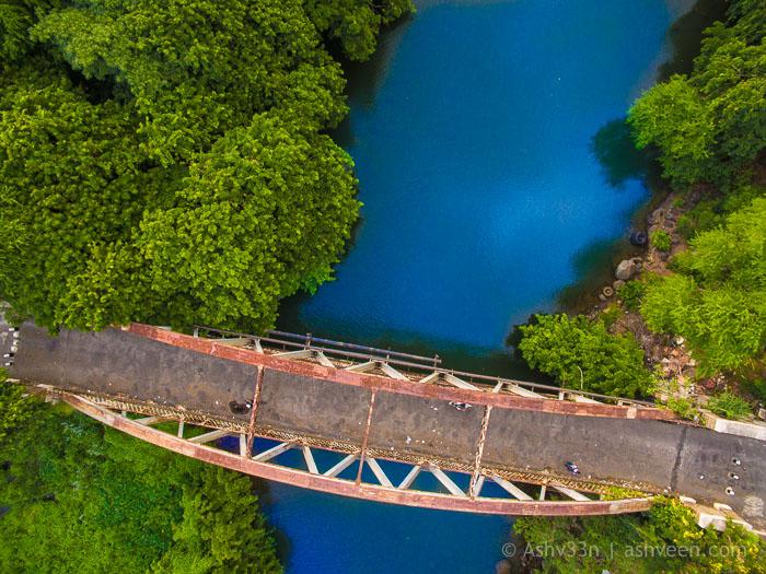 Drone Mauritius - GRNW Old Bridge