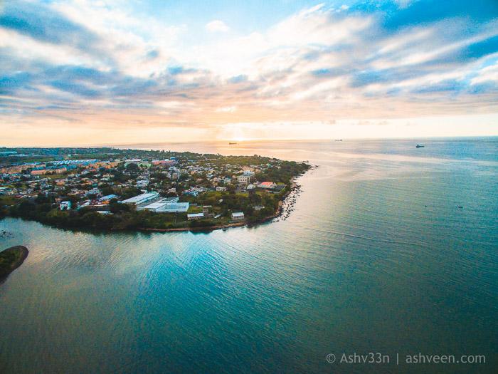 Drone Mauritius - Pointe Aux Sables