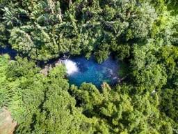 Eau Bleue Mauritius-Waterfall 2 Drone View