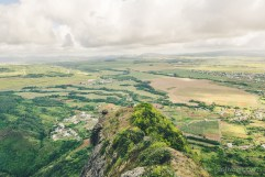 Hiking Pieter Both Mountain Mauritius - View from Shoulder