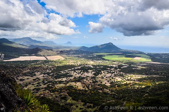 Hiking Trois Mamelles - View Over Cascavelle