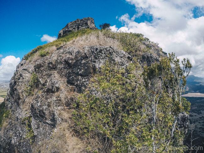 Hiking Trois Mamelles - Difficult Part