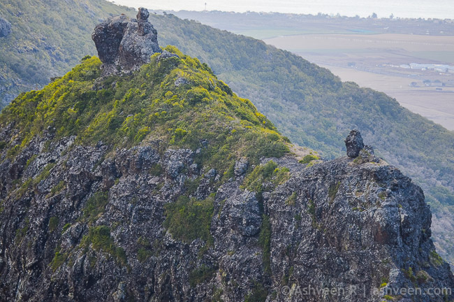 Hiking Trois Mamelles - First Peak Spots