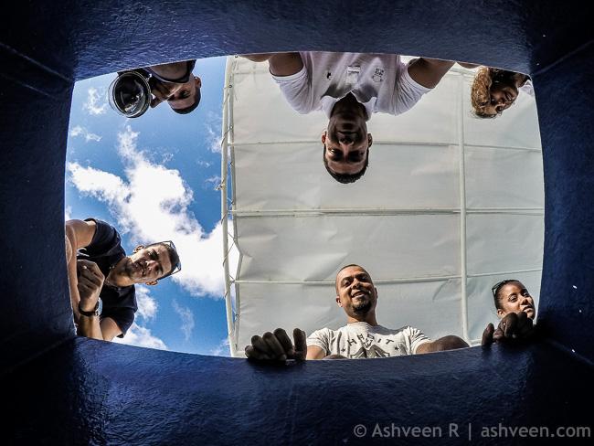 Instameet Mauritius IDDC WWIM14 - Glass Bottom