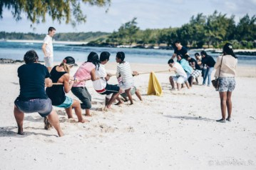 Instameet Mauritius - A Day at Ile des Deux Cocos - Tug of War