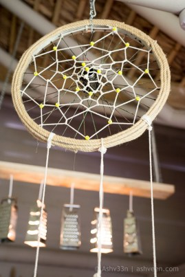 Lux Belle Mare Mauritius Junk Art Dream Catcher