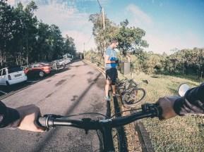 MTB Ride Macchabee Trail - Parking Lot