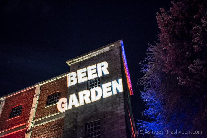 Porlwi By Light 2016 - The Beer Garden