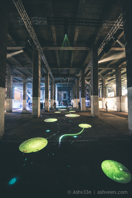 Porlwi by Nature - The Granary - Light Game